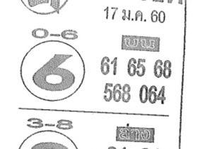 ส่องเลขดัง! ค.คนชี้โชค งวด 17 มกราคม 2560