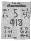 เลขเด็ด เจ้าแม่ตะเคียน งวด 1 มีนาคม 2560