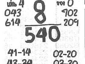 เลขเด็ด เจ้าแม่ตะเคียน งวด 16 พฤษภาคม 2560
