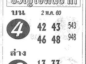 เลขเด็ด ขวัญใจคนยาก งวด 16 พฤษภาคม 2560