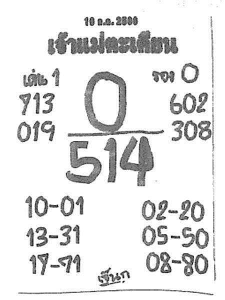 เลขเด็ด เจ้าแม่ตะเคียน งวด 16 กรกฎาคม 2560