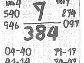 เลขเด็ด เจ้าแม่ตะเคียน งวด 1 พฤศจิกายน 2560