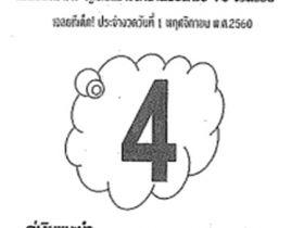 เลขเด็ด ทิดจันทร์ งวด 1 พฤศจิกายน 2560