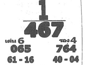 เลขเด็ด เจ้าพ่อปากแดง งวด 1 ธันวาคม 2560