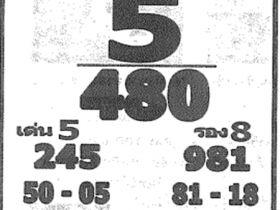 เลขเด็ด หลวงพ่อปากแดง งวด 16 มิถุนายน 2561