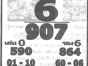 เลขเด็ด หลวงพ่อปากแดง งวด 1 กรกฎาคม 2561