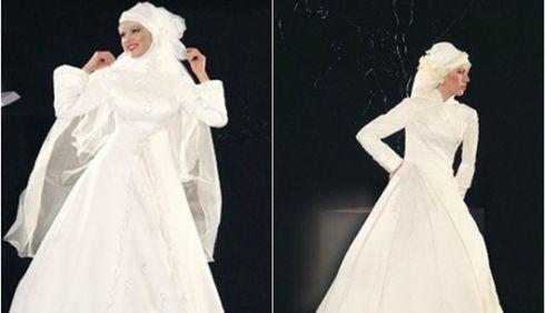 ชุดแต่งงาน สำหรับสาวอิสลาม