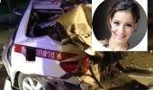 แอนนา รีส อดีตแฟนเสนาหอย ขับรถชนตำรวจตาย