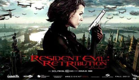 ผีชีวะ 5 เรื่องย่อ Resident Evil Retribution 5