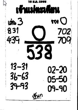เลขเด็ดเจ้าแม่ตะเคียนทอง งวด 16 มิถุนายน 2563
