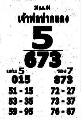 เลขเด็ดหลวงพ่อปากแดง งวด 16 ตุลาคม 2564